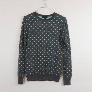 The Limited polka dot sweater size XS